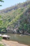 Kanchanaburi rzeka Obraz Stock