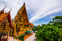 Kanchanaburi Tailandia di Wathumsua Fotografia Stock Libera da Diritti