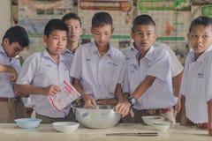 KANCHANABURI TAILANDIA - 21 GIUGNO: Confede non identificato degli studenti Fotografia Stock Libera da Diritti