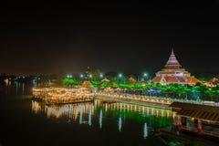 KANCHANABURI THAÏLANDE - 2 NOVEMBRE : Paysage du 19ème suprême photos stock