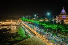 KANCHANABURI THAÏLANDE - 2 NOVEMBRE : Paysage du 19ème suprême photo stock