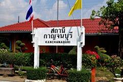 Kanchanaburi, Thailand: Bahnhof Kanchanburi Lizenzfreies Stockfoto