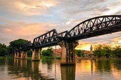 Kanchanaburi (Thailand), The Bridge on the River Kwai Stock Image