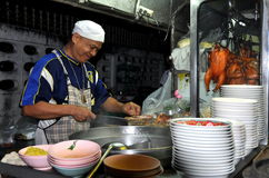 Kanchanaburi, Thailand: Chef Preparing Food Royalty Free Stock Photo