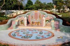 Kanchanaburi, Thailand: Chinese Grave Stock Photo