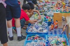 KANCHANABURI THAILAND - FEBRUARY 4 : Unidentified People select Stock Images