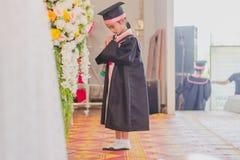 KANCHANABURI THAILAND - 23. MÄRZ: Wat Krangthong-Schule-provid Stockfotografie