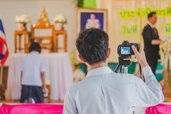 KANCHANABURI THAILAND - 23. MÄRZ: Wat Krangthong-Schule-provid Lizenzfreie Stockfotografie