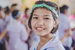 KANCHANABURI THAILAND - 23. MÄRZ: Wat Krangthong-Schule-provid Lizenzfreies Stockfoto