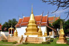 Kanchanaburi, Thailand: Wat Na Royalty Free Stock Photo