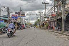 Kanchanaburi town, Thailand Royalty Free Stock Image