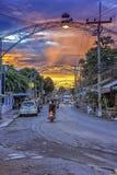 Kanchanaburi town, Thailand Stock Images