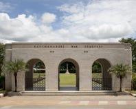 Kanchanaburi War Cemetery, River Kwai, Thailand Stock Photography