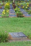 KANCHANABURI WOJENNY cmentarz To jest Wa fotografia royalty free