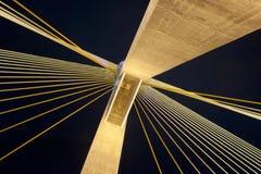 Kanchanaphisek Brücke, Bangkok Lizenzfreies Stockfoto