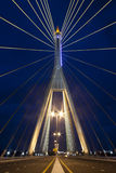 Kanchanaphisek Brücke, Bangkok Lizenzfreie Stockfotografie
