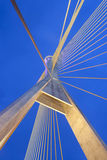 Kanchanaphisek Brücke, Bangkok Lizenzfreie Stockfotos