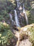 Kanchanjangha der 2. Wasserfall Stockbild