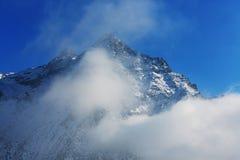 Kanchenjunga地区 库存图片