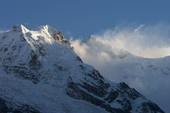 Kanchenjunga Stock Photo