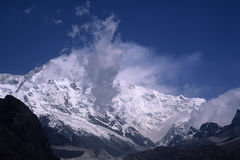 Kanchenjunga Royalty Free Stock Photography