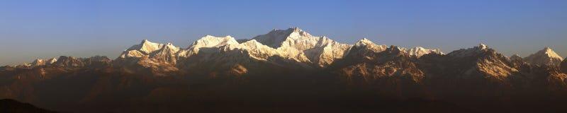 kanchenjunga góra Zdjęcie Royalty Free