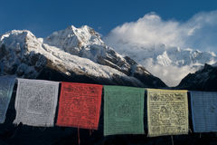 Kanchenjunga and Goecha Peak Stock Photography