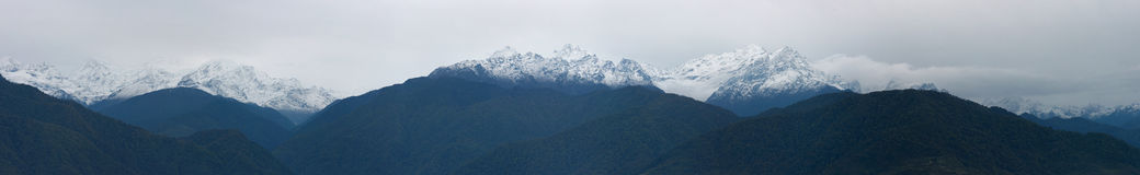 Kanchenjunga Range Stock Photo