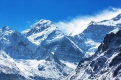 Kanchenjunga region arkivfoton