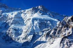 Kanchenjunga region royaltyfri foto