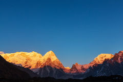 Kanchenjunga region Stock Photo