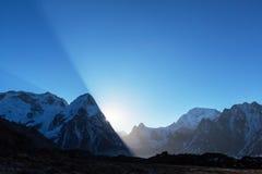 Kanchenjunga region Stock Photo