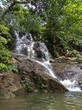 Kanching瀑布 图库摄影