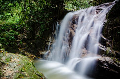 Kanching Waterfall. Part of Kanching waterfall flowing fast Stock Image