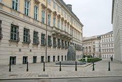 Kanclerza ` s biuro Austria w Wiedeń Zdjęcie Stock