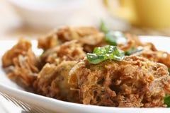 Kanda Bhajjia - Onion fritters from Maharashtra Royalty Free Stock Image
