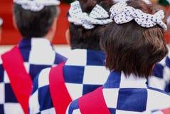 Kanda festival matsuri participants Stock Photos
