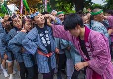 Kanda Matsuri à Tokyo Japon images libres de droits