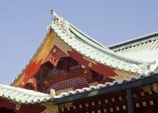 Kanda Myojin tempel Fotografering för Bildbyråer