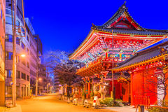 Kanda relikskrin Tokyo royaltyfri bild