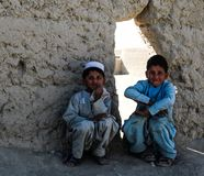 Kandahar στο δρόμο του Spin Boldak σε Kandahar Στοκ Εικόνες