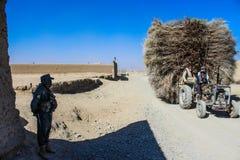 Kandahar στο δρόμο του Spin Boldak σε Kandahar Στοκ Φωτογραφίες