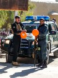 Kandahar al camino del Spin Boldak en Kandahar Fotografía de archivo