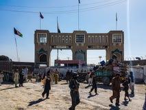 Kandahar al camino del Spin Boldak en Kandahar Fotografía de archivo libre de regalías