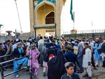 Kandahar zur Spin Boldak-Straße in Kandahar Lizenzfreie Stockfotografie