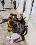 Kandahar zur Spin Boldak-Straße in Kandahar Stockfotografie