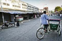 Kandal market street in central urban phnom penh city cambodia Stock Photos
