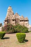 Kandariya Mahadev Tempel Zdjęcie Stock