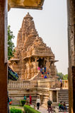 Kandariya mahadev temple in Khajurao India Royalty Free Stock Images