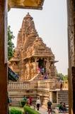 Kandariya mahadev temple in Khajurao India Royalty Free Stock Images